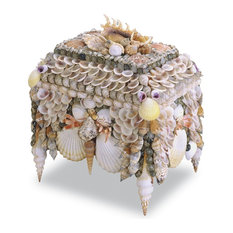 Currey and Company Boardwalk Shell Jewelry Box