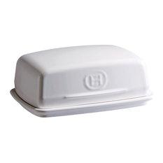 Emile Henry Flour Ceramic 16 Ounce Butter Dish