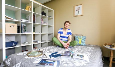 В гостях: Съемная квартира с экспериментальным подходом для дизайнера