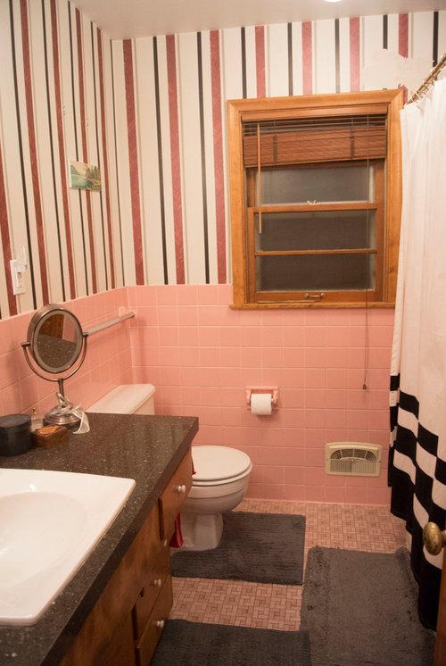 Save The Pink Bathrooms | Pink Bathroom Refinishing Tile Tub