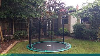 Capital In-ground Circular Trampoline Installations