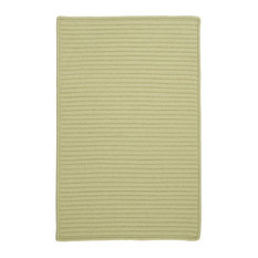 Colonial Mills, Inc - Colonial Mills Simply Home Solid H834 Celery Rug, 8x8 - Outdoor Rugs