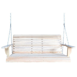 Traditional Porch Swings by Louisiana Cypress Swings & Things Inc.