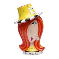 Daisy Lady Cookie Jar