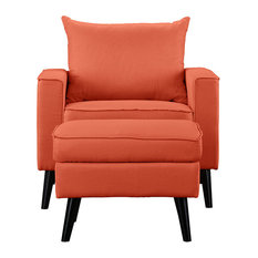 Best Orange Armchairs and Accent Chairs for Your Home   Houzz