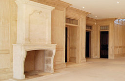 Fireplaces out of Reclaimed Antique Stone (Mediterranean Style)