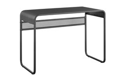"""42"""" Metal Desk With curved top, Gunmetal Gray"""