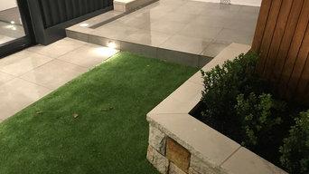 Lane-way Courtyard