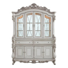 Acme Gorsedd Hutch and Buffet With Antique White