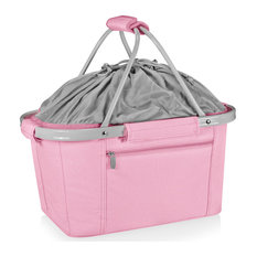 Picnic Time Family of Brands Basket Collapsible Cooler Tote 645-00-218-000-0