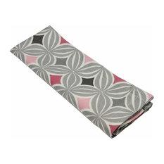 McAlister Textiles Laila Napkins Geometric Design, Blush Pink, Set of 4