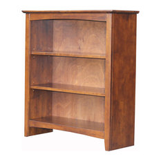 Shaker Bookcase in Espresso Finish