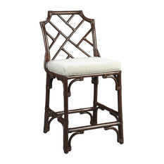 Palm Beach Chippendale Counter Chair Mahogany