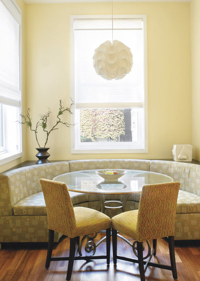 Kitchen & dining room seating: consider a banquette