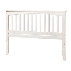 Atlantic Furniture Mission King Headboard in White