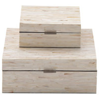 Willa 2-Piece Mother of Pearl Inlay Box Set