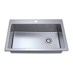 Valencia Series Dual-Mount Single Bowl Sink
