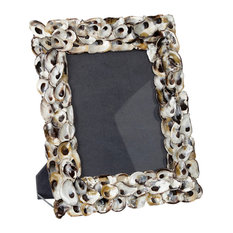 """Oyster Shell Photo Frame, 8""""x10"""""""