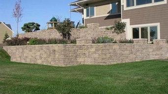 Allan Block Wall Example