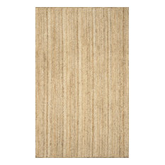 nuLOOM Hand Woven Jute and Sisal Rigo Area Rug, Natural, 12'x15'