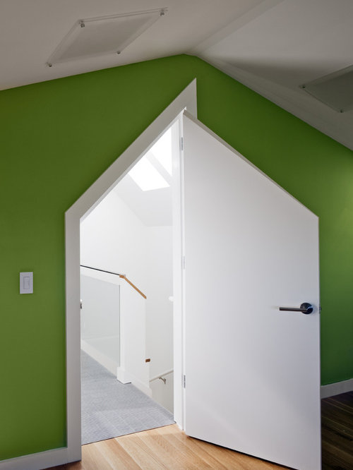tiny attic room ideas - Attic Door