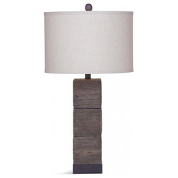 Rustic Table Lamps by HedgeApple