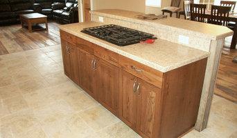 Knotty Oak Kitchen