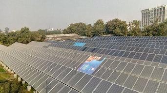 300 kw On Grid Solar Plant