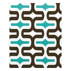 Premier Prints Inc Outdoor Embrace Fabric Ocean 1 Yard