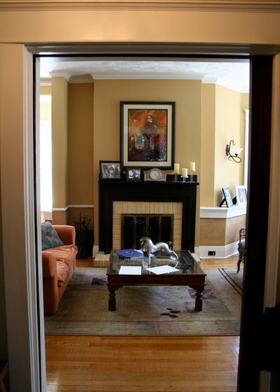 fireplace surround makeover
