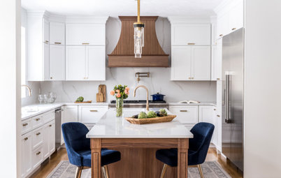 Kitchen of the Week: Tailored Style With White and Wood Elements