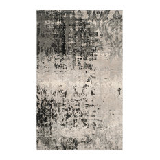 "Safavieh Retro Collection RET2139 Rug, Light Grey/Grey, 8'9"" X 12'"