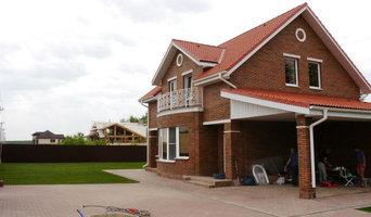 Строительство дома площадью 180 м2 из теплой керамики  и облицовочного кирпича