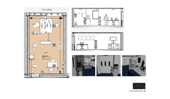 Kleines Büro 35 qm