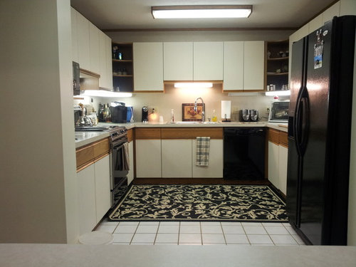 Need Some Inexpensive Ideas For Remodeling My 80 S U Shaped Kitchen