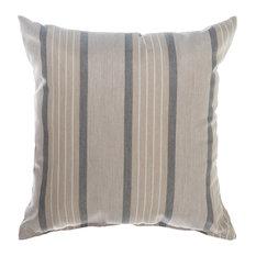 """Pawleys Island Sunbrella Outdoor Throw Pillow, Cove Pebble 18""""x18"""""""