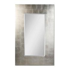 Rembrandt Antiqued Silver Leaf rectangular Mirror