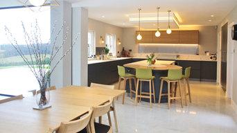 Modern Scandi style kitchen