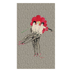 Moulin Rouge Pretty Legs Wallpaper, 144x250 cm