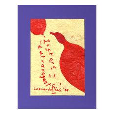 """Leonardo Voci """"Pictore Extravagante 20"""" Painting"""