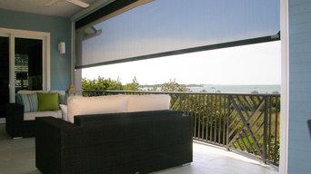 Custom Architectural Metal - Art Deco Aluminum Railing Beach Home