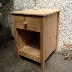 Item Picture Nautical Rustic Pine Bedside Cabinet Contemporary Table Nightstands And Tables