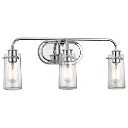 Marvelous Industrial Bathroom Vanity Lighting by Littman Bros Lighting