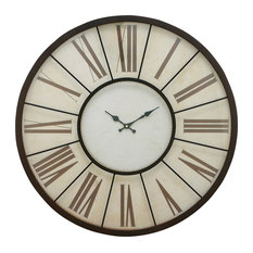 "Metal Wall Clock 27""D"