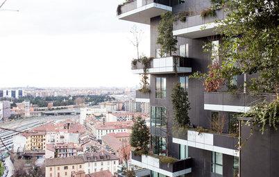 Houzz Tour: Skogen skjuter i höjden i Milanos häftigaste skyskrapa