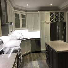 Double size kitchen remodeling