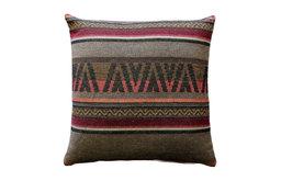 Pillow Decor - Kilim Stripes 19 x 19 Tapestry Throw Pillow