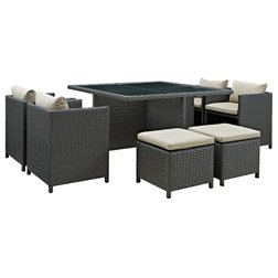 Tropical Outdoor Dining Sets by Modway