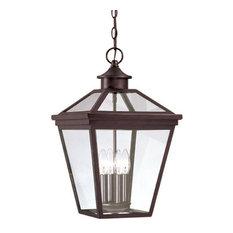 Savoy House - Savoy House Ellijay Hanging Lantern in English Bronze - 5-145-13 - Outdoor Hanging Lights