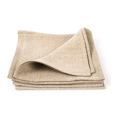Natural Linen Napkin Lara, Set of Four